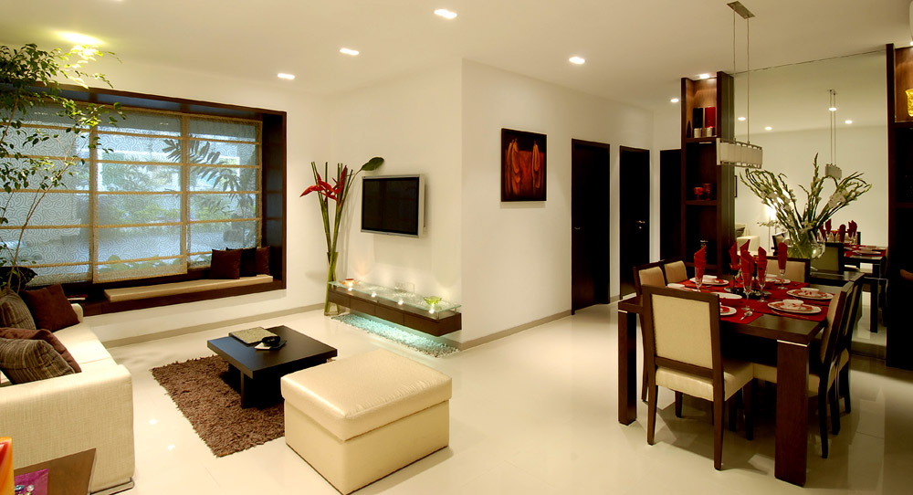 Pyramid property consultants pvt ltds pvt ltd mumbai for Interior decoration pictures 2 bhk flats